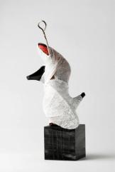 Ursula Kolbe 'Mi Noche Triste XII'. Found materials, mixed media 36x16x16cm