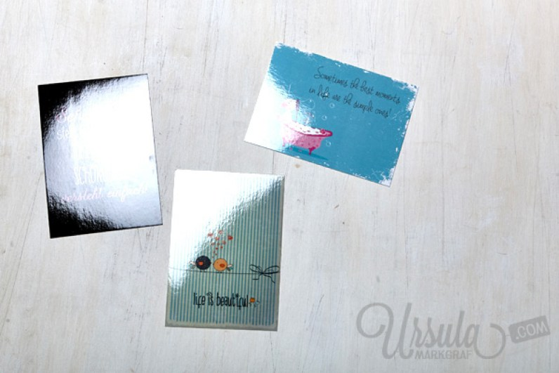 Made by Nani https://www.facebook.com/nanigraphics - And I'm so sorry I messed up the photo. I realized to late that my flash had put a horrible glare on the cards. :-(