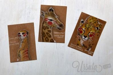 Made by Leah http://tropicalbasenji.blogspot.de/