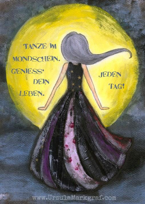 """""""Mondschein"""" - Kunstdruck erhältlich im SHOP"""