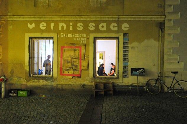 Spurensuche, Foto: Karin Reichhalter