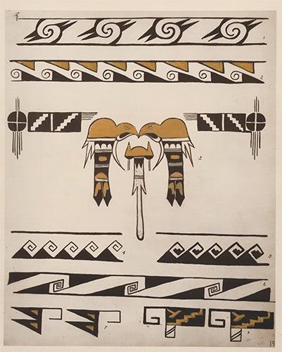 Native American Border Designs : native, american, border, designs, Conventional, Borders., American, Indian, Designs, Westlake