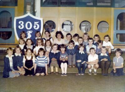 Klasa III E, rok szkolny 1980/81, szkoła to oczywiście 305. Źródło: Nasza-Klasa