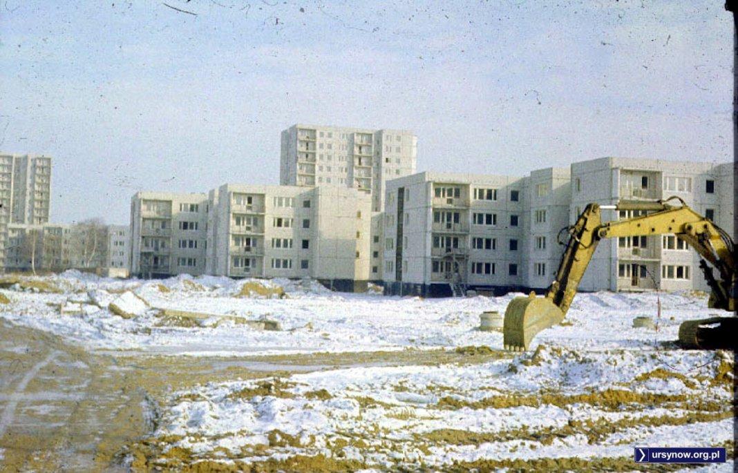 Pusta budowa bloków osiedla Wolica przy Lanciego. Zdjęcie znalezione w internecie.