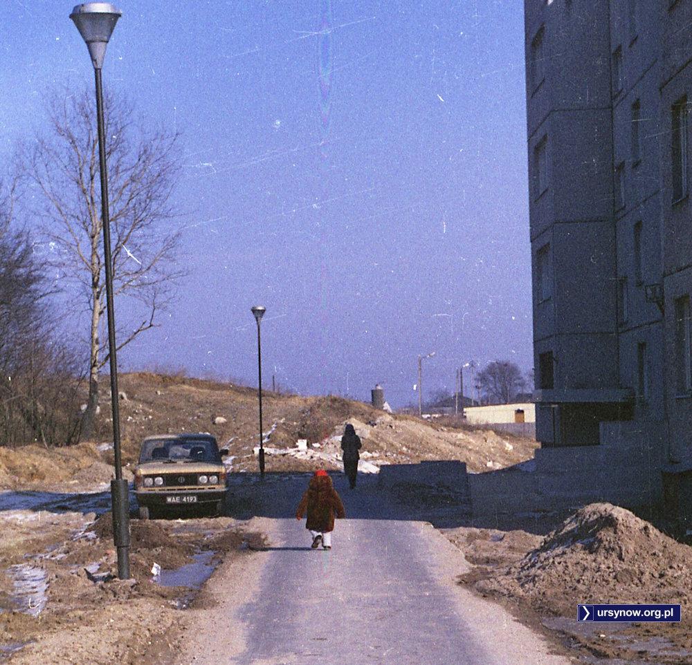 Górka Imielińska, podejście od Szolc-Rogozińskiego obok lasku. Fot. Andrzej Kubik