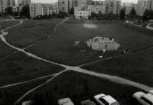 Rozgrywki na Estadio de la Puszczyka, czyli na boisku między Puszczyka i Wiolinową. Fot. Marcin Kubera