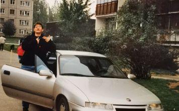 """""""Największy wstyd mojej młodości. Opel Calibra. Eldorado wiejskiego tuningu. Kupiony w Białymstoku co jeszcze dodawało dramaturgii..."""" Opis pod zdjęciem z instagrama Kuby Wojewódzkiego."""
