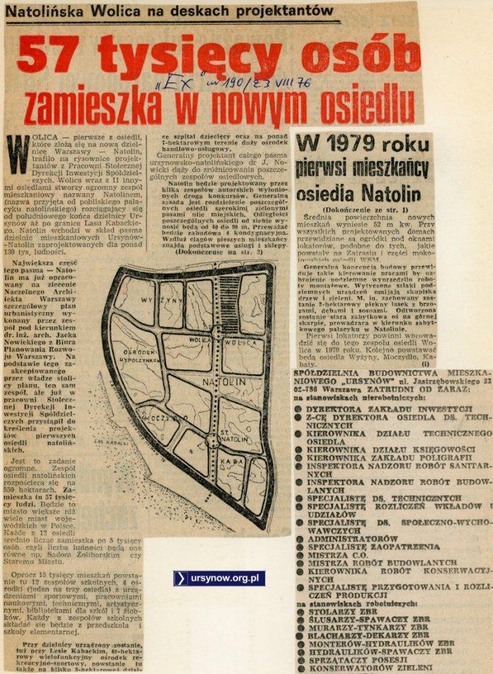 Express Wieczorny, 23 sierpnia 1976