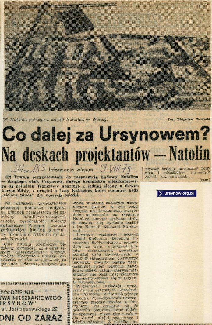 Życie Warszawy, 9 sierpnia 1979