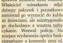 Bomba na Hirszfelda. Życie Warszawy, 5 czerwca 1993