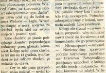 Ukradli koła! Życie Warszawy, 12 listopada 1993