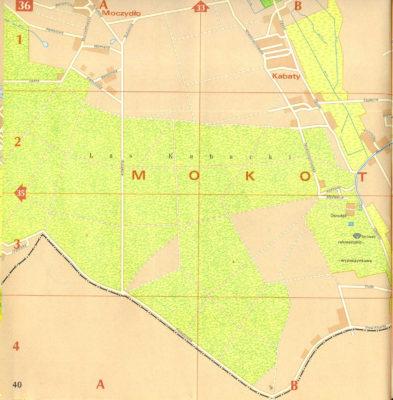 Moczydło i Las Kabacki. Plan PPWK, 1978