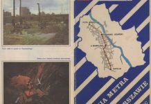 Ulotka z początków budowy metra które już wkrótce, za 25 lat, połączy Kabaty (tu zwane Natolinem) z Młocinami. Materiał z archiwum redakcji Trasbusa, www.trasbus.com