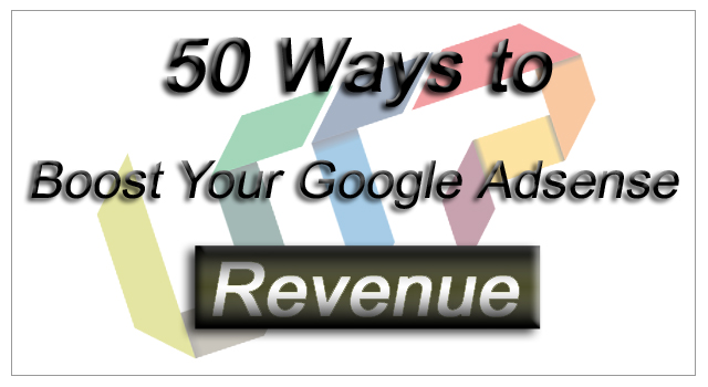 Increase Adsense Revenue