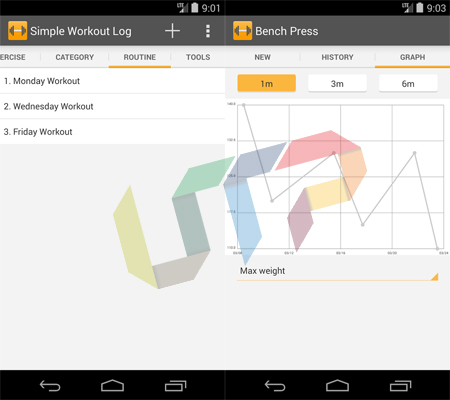Simple Workout Log Best Fitness Apps for Android