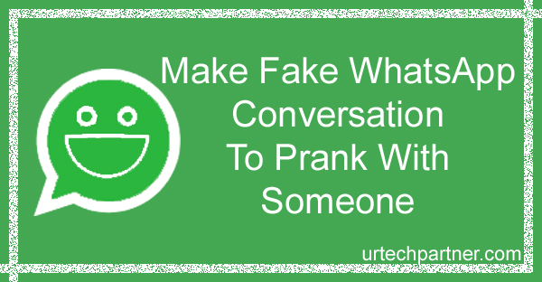 Make Fake WhatsApp Conversation