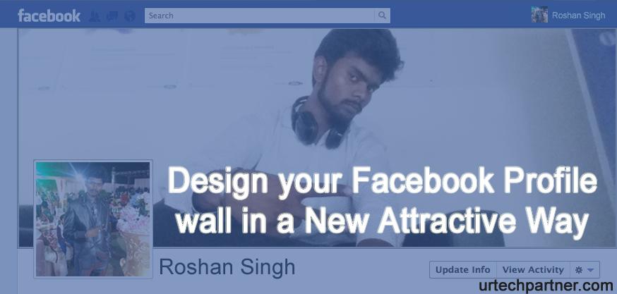 Attractive facebook profile picture