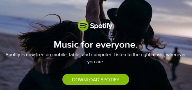 Spotify for Music