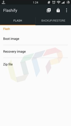 Flashify Tutorial guide to Flash Custom Recovery / Boot