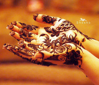 Mehandi hand dp for girls
