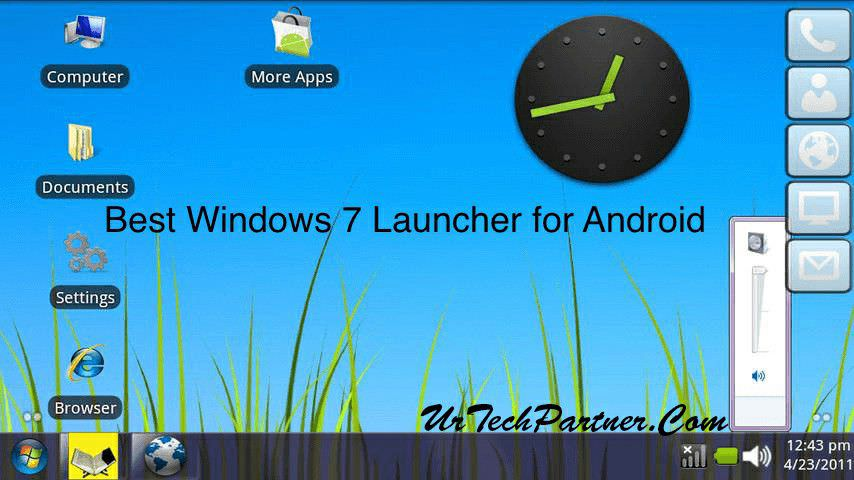 windows 7 launcher for android