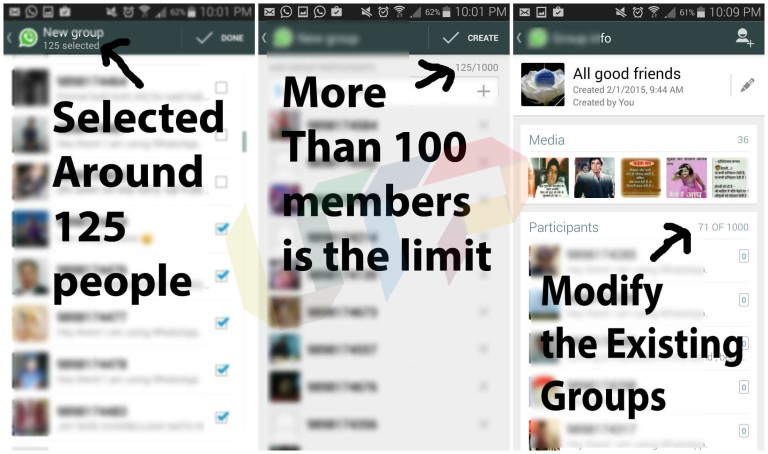 Add Unlimited Member In WhatsApp Group