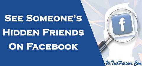 see hidden friend list facebbok