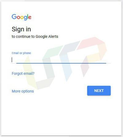Google Alert Service