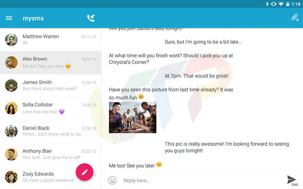 top 10 best text message apps for android devices