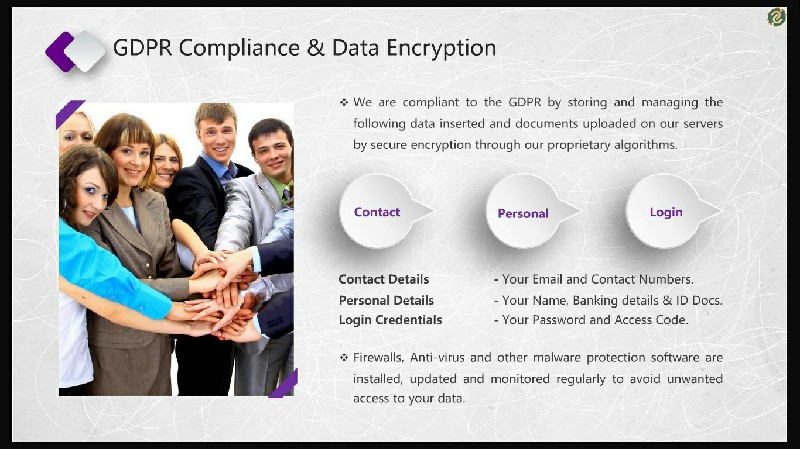 GDPR Compliance & Data Encryption