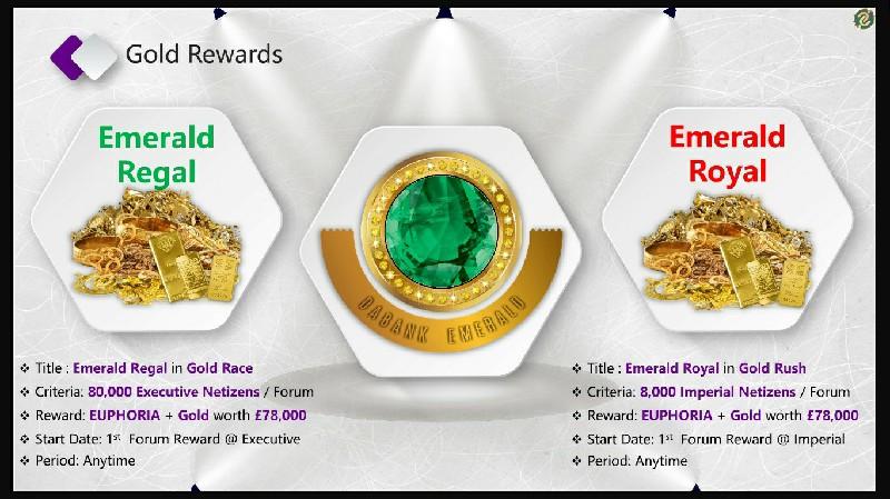 Emerald Regal & Emerald Royal
