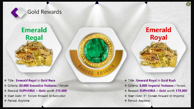 Emerald Regal & Emerald Royal