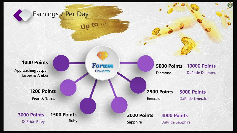 Forum Earnings Per Day