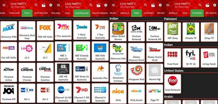 Live NetTV Apk Live Channels