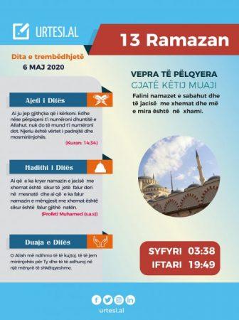 Dita e trembëdhjetë e Ramazanit