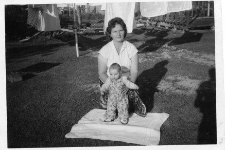 Mum Mike 4mths 1963