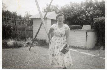 Mum Peg c1959