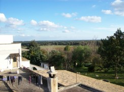 vista dalla Torre ovest