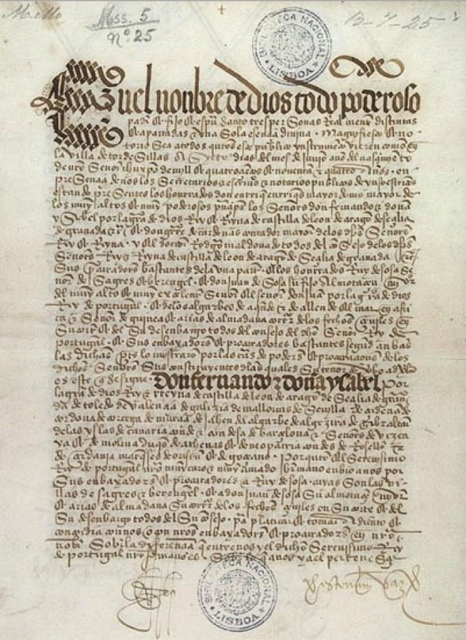 Sejarah Isi Dan Latar Belakang Perjanjian Tordesillas