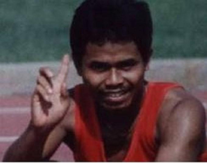pada olimpiade PON 1993, atlet lari indonesia ini berhasil mengharumkan nama bangsa