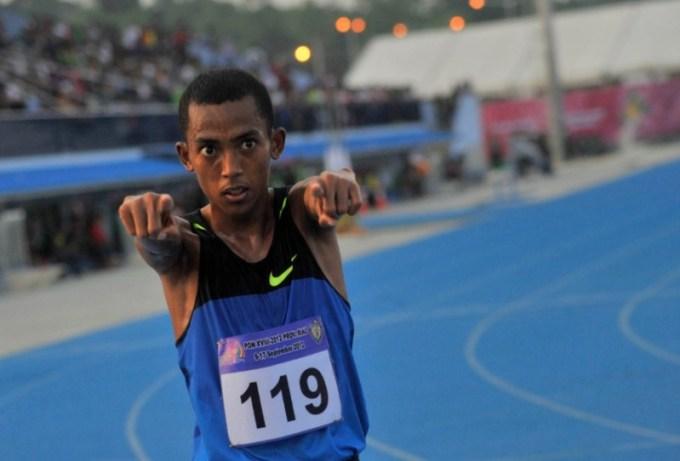 atlet lari indonesia ini berhasil mengharumkan nama bangsa setelah mengalahkan nguyen