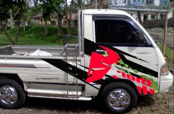 gambar modifikasi mobil pick up colt 120ss hilux hijet