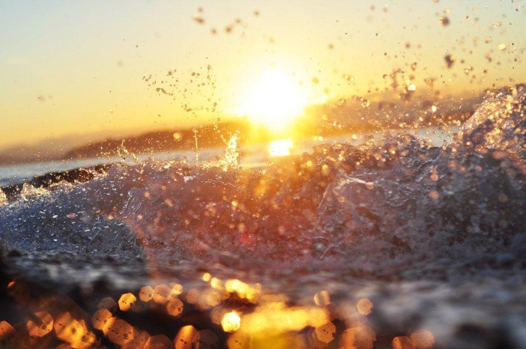 разговор воды и солнца