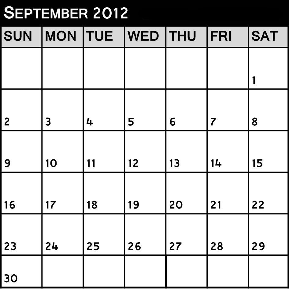 "The Fashion Teller Fashion Calendar September 2012 ""the"
