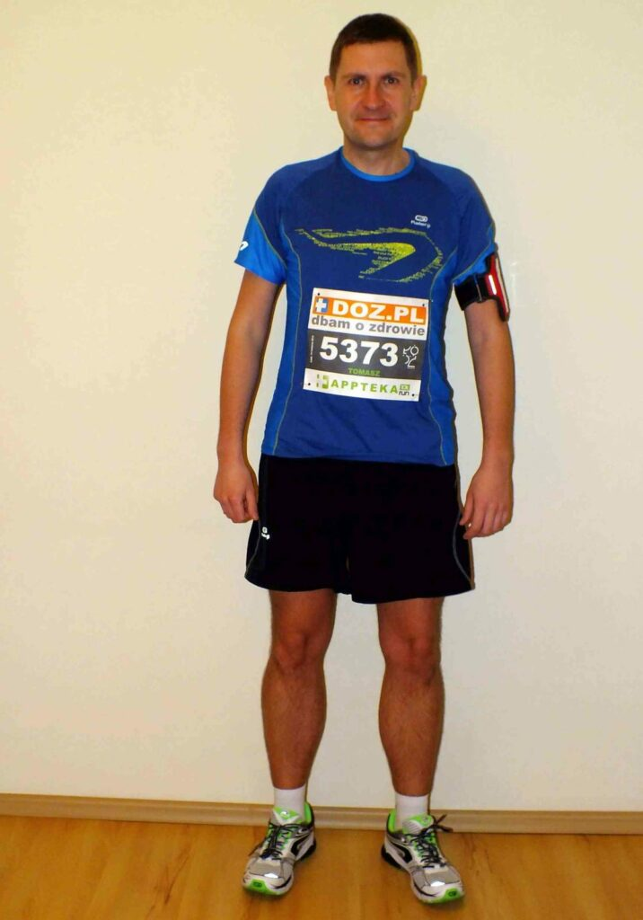 początki biegania, biegacz amator, pierwsze zawody, urzędnikbiega.pl