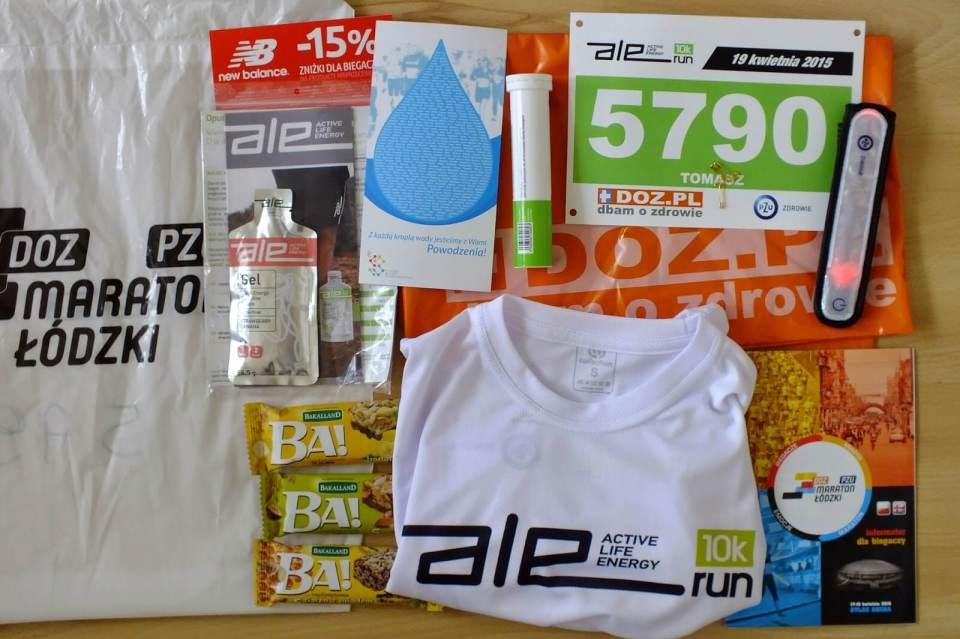 Pakiet startowy doz maraton łódzki 2015