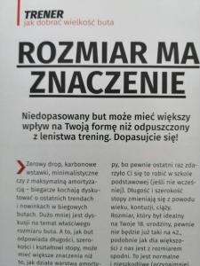 Artykuł Runner's World Polska