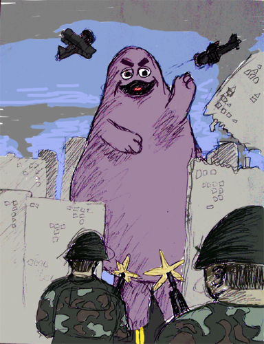 you can t kill the grimace