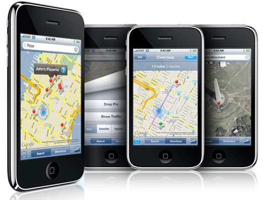 iphone3g gps
