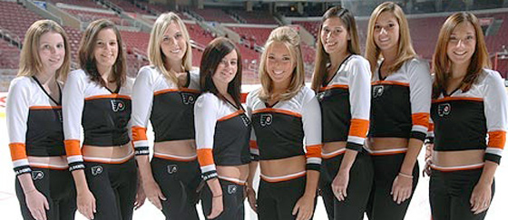 Philadelphia Flyers Ice Team